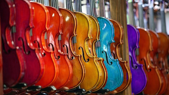V.com weekend vote: What color is your violin?
