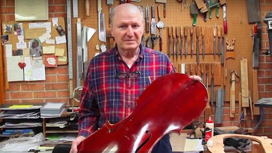 In Memoriam:  Daniel Foster, Cellist and Luthier