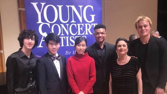 Violinists Randall Goosby and Risa Hokamura Among 2018 Young Concert Artists Winners