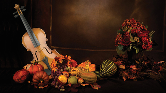 Thanksgiving violin
