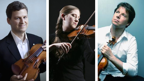 Joshua Bell, James Ehnes and Christina Day Martinson nominated for 2019 Grammys