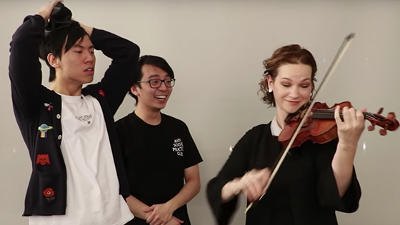 Inspiration from Hilary Hahn - Practice Resolutions.