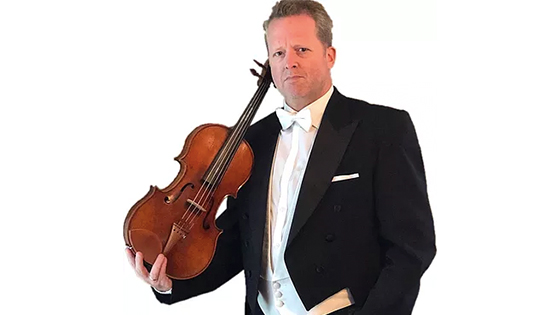 Brett Deubner Premieres a New Viola Concerto by Robert W. Butts