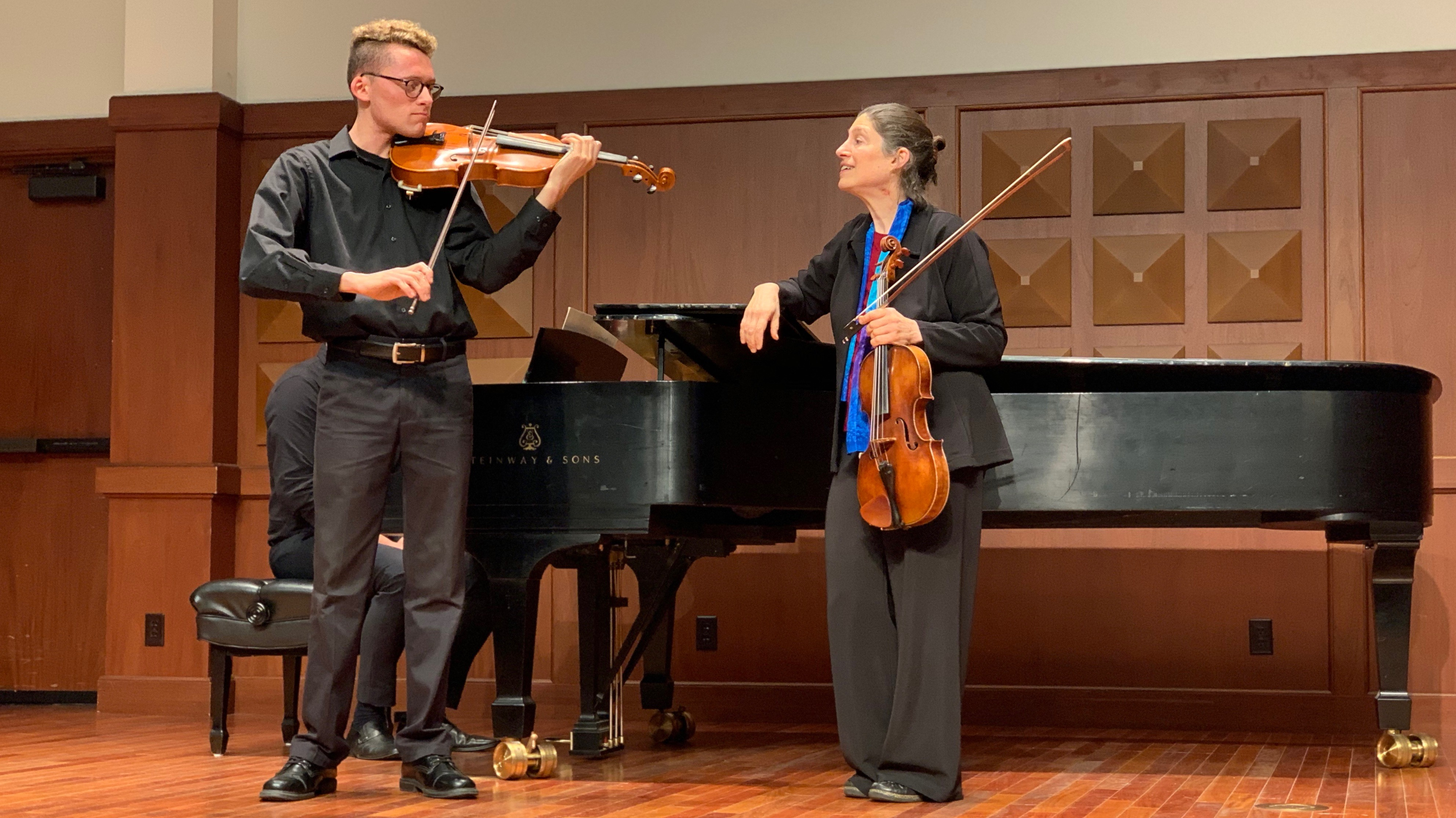 Viola Masterclass with Kim Kashkashian at USC Thornton
