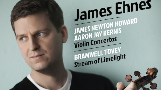 James Ehnes Wins Two Grammys for Kernis Violin Concerto