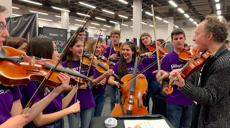 Scenes from the American String Teachers Association Conference 2019 Exhibit Hall