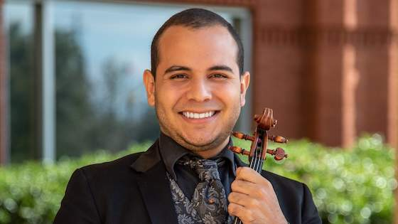 Violinist Samuel Vargas Named Winner in 2019 Yamaha Young Performing Artists Competition