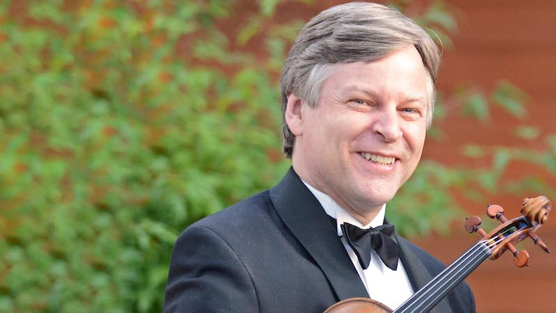 Violinist Simon James to Join San Francisco Conservatory of Music Faculty