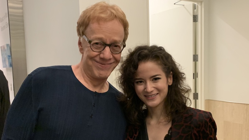 Danny Elfman and Sandy Cameron