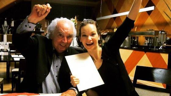 Interview: Hilary Hahn Records 6 Partitas for Solo Violin by Antón García Abril