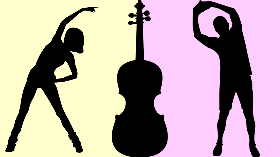V.com weekend vote: Do you stretch before playing your violin or viola?