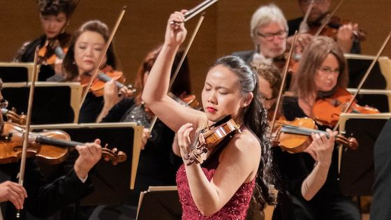 Stella Chen of the U.S. wins the 2019 Queen Elisabeth Competition