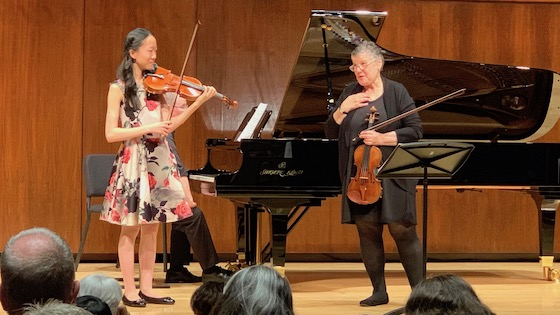 Violin Masterclass with Kathleen Winkler