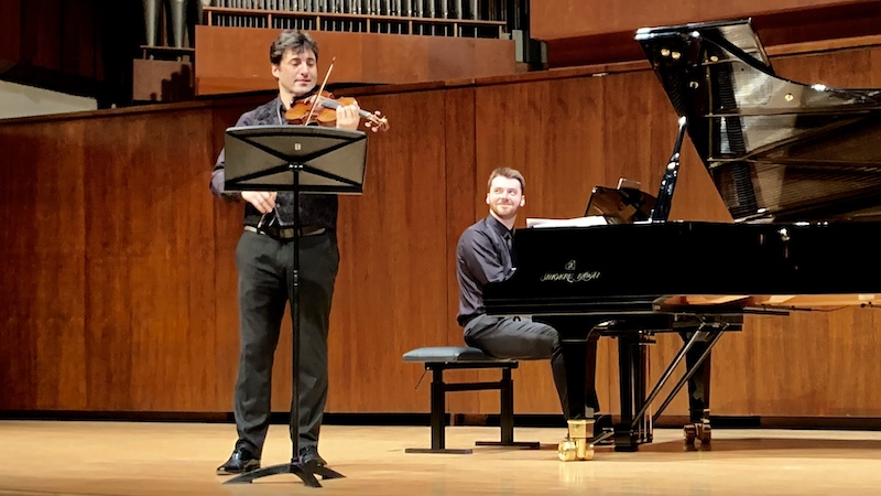 Review: Violinist Philippe Quint in Recital with Peter Dugan at Juilliard