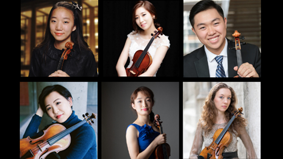 Finalists Named in the 2019 Montreal International Violin Competition