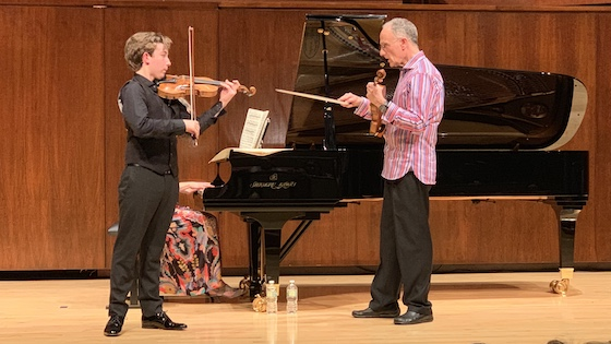 Violin Masterclass with Mark Kaplan