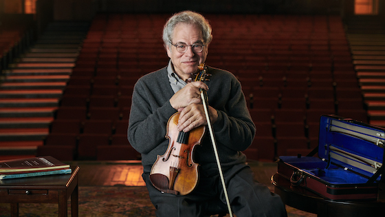 Violinist Itzhak Perlman Teaches First Classical Music Class for MasterClass