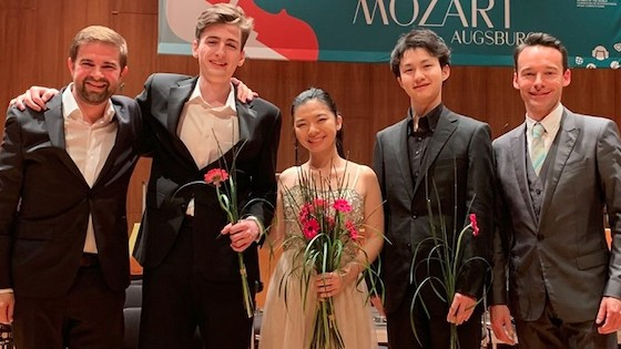 2019 Leopold Mozart Violin Competition winners