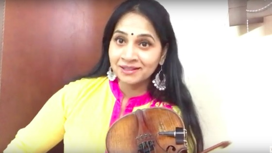 Indian Classical Violin: The Right Beginning