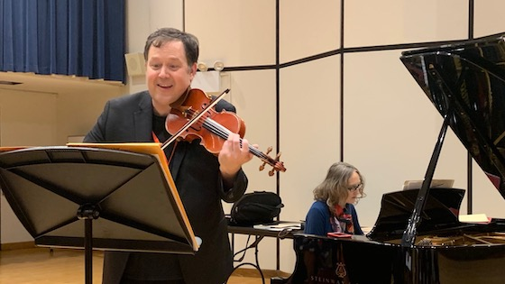 Brian Lewis Presents Lesser-Known Works for Violin and Piano