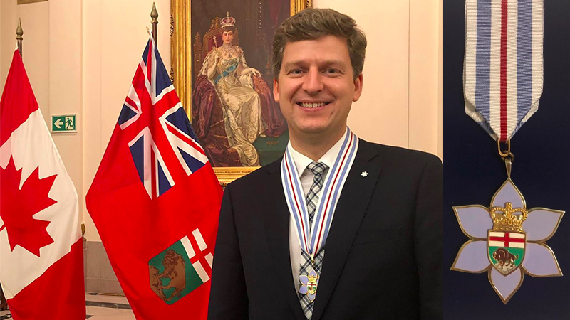 Violinist James Ehnes Awarded the Order of Manitoba