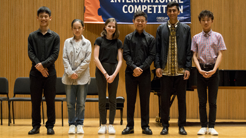 Cooper Competition Recital Finalists