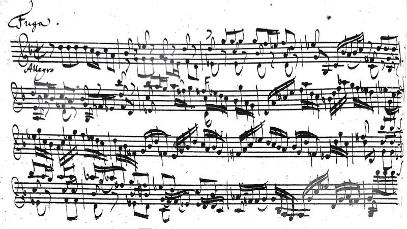 Bach Fuga
