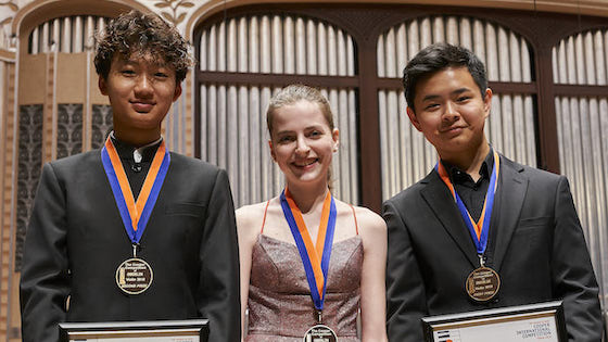 Eric Charles Chen Wins the 2019 Cooper International Violin Competition