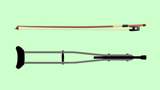 bow crutch
