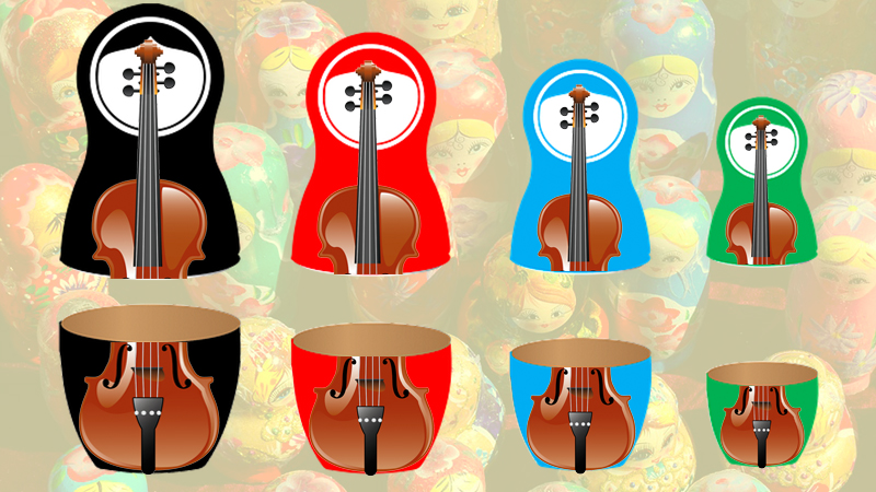 Russian Dolls - The Violinist's Art of Compartmentalization