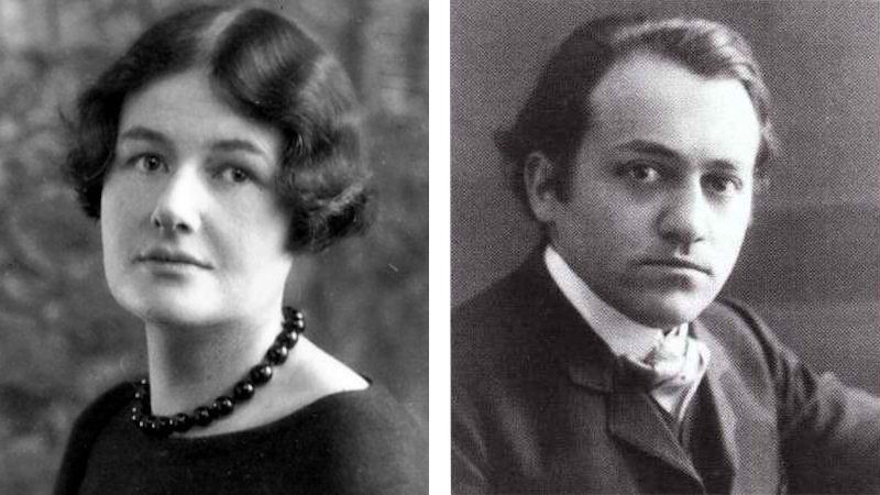 Rebecca Clarke and Ernest Bloch