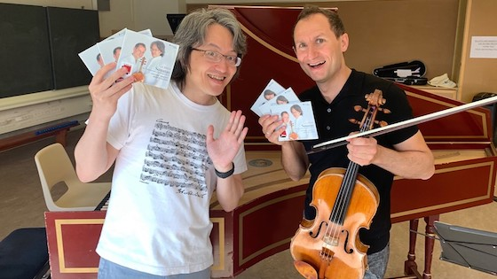 Antoine Tamestit and Masato Suzuki