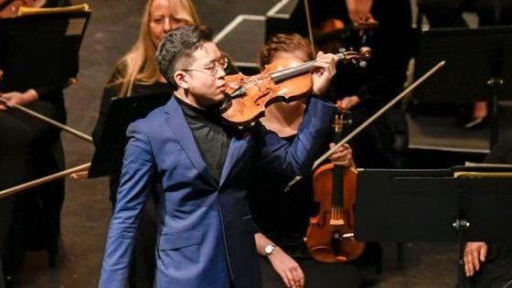 REVIEW: Violinist Paul Huang Brings del Gesù Violin to Life