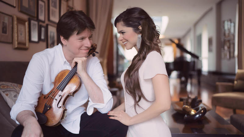 Joshua Bell and Larisa Martinez