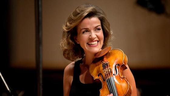 Violinist Anne-Sophie Mutter Speaks About Cell Phone Incident