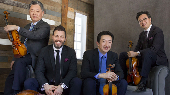 Tianjin Juilliard School Appoints Shanghai Quartet as Resident Faculty