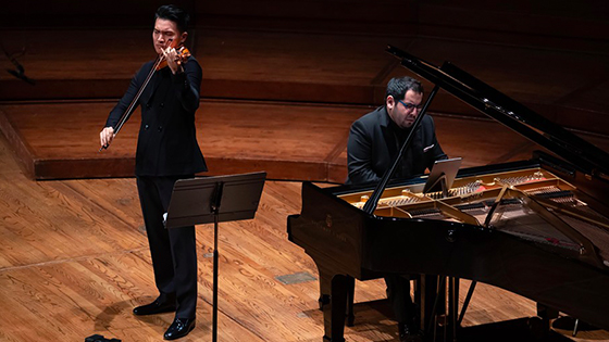 REVIEW: Ray Chen Recital with pianist Julio Elizalde at Disney Hall