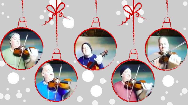 Can a Violin Do That? Swinging in the Holiday