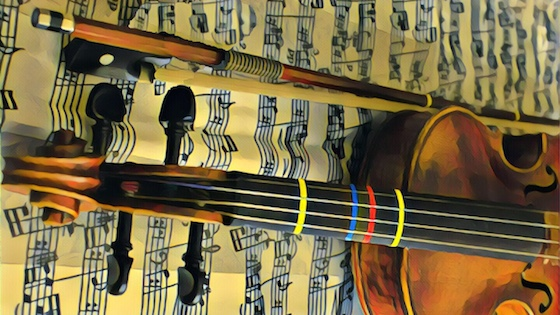 Scaffolds, Templates, and Fingerboard Tape - Help for Violinists