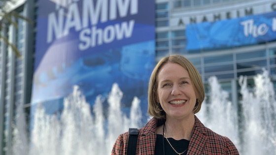 Scenes from the NAMM Show 2020 in Anaheim