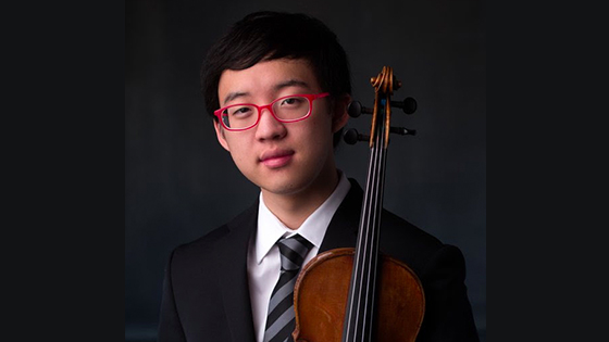 Julian Rhee Wins the 2020 Elmar Oliveira International Violin Competition