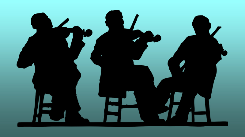 The Well Aging Fiddler: Go ahead! Play with others!