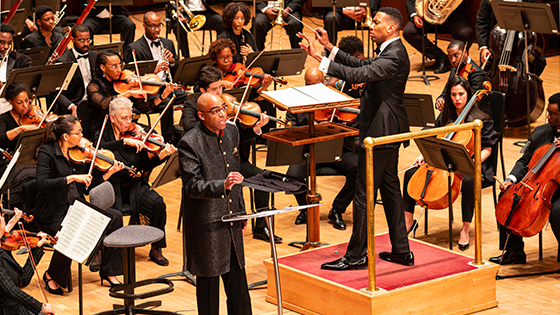Aaron Dworkin and the Sphinx Symphony Orchestra