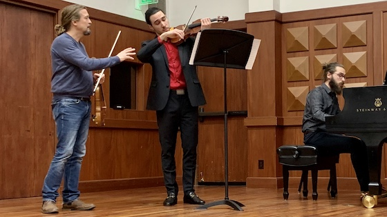 Violin Masterclass with Christian Tetzlaff at USC