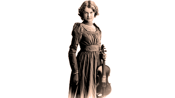 Violinist Leonora Jackson McKim Lives on Through Library of Congress Concerts