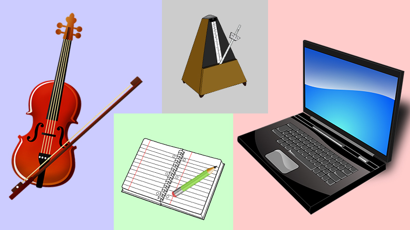 items for online lessons