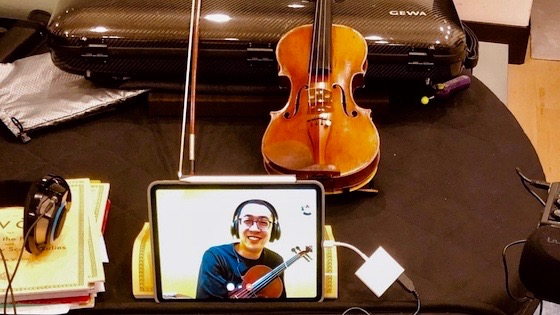 A Comparison of Video Conferencing Platforms for String Teaching