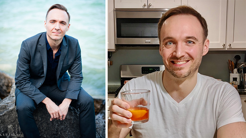 Austin Wulliman and Negroni