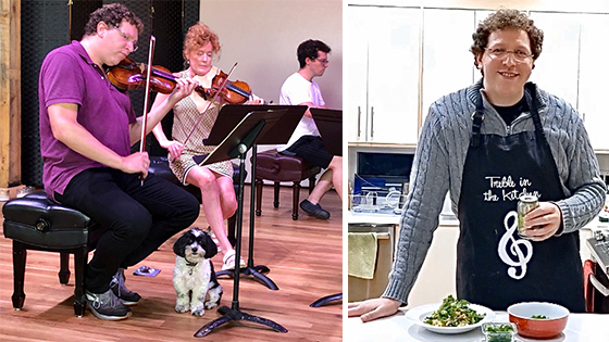 Fiddler's Favorite Recipes Episode 15: Noah Geller's Veggie Pad Thai