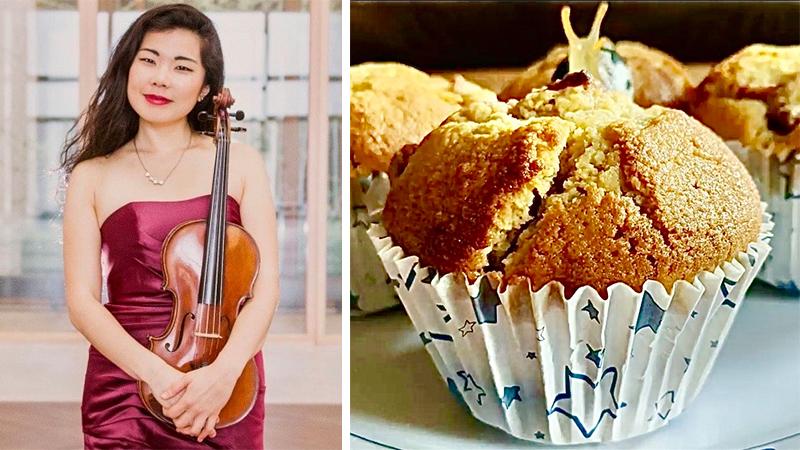 Fiddler's Favorite Recipes Episode 16: Violist Ayane Kozasa's Strawberry Muffins